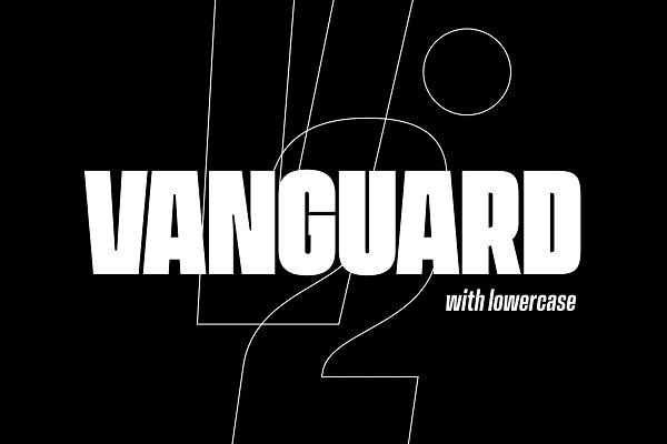 Vanguard CF: brilliant & bold sans