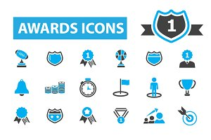 36 awards icons