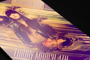 Nightclub flyer template 1