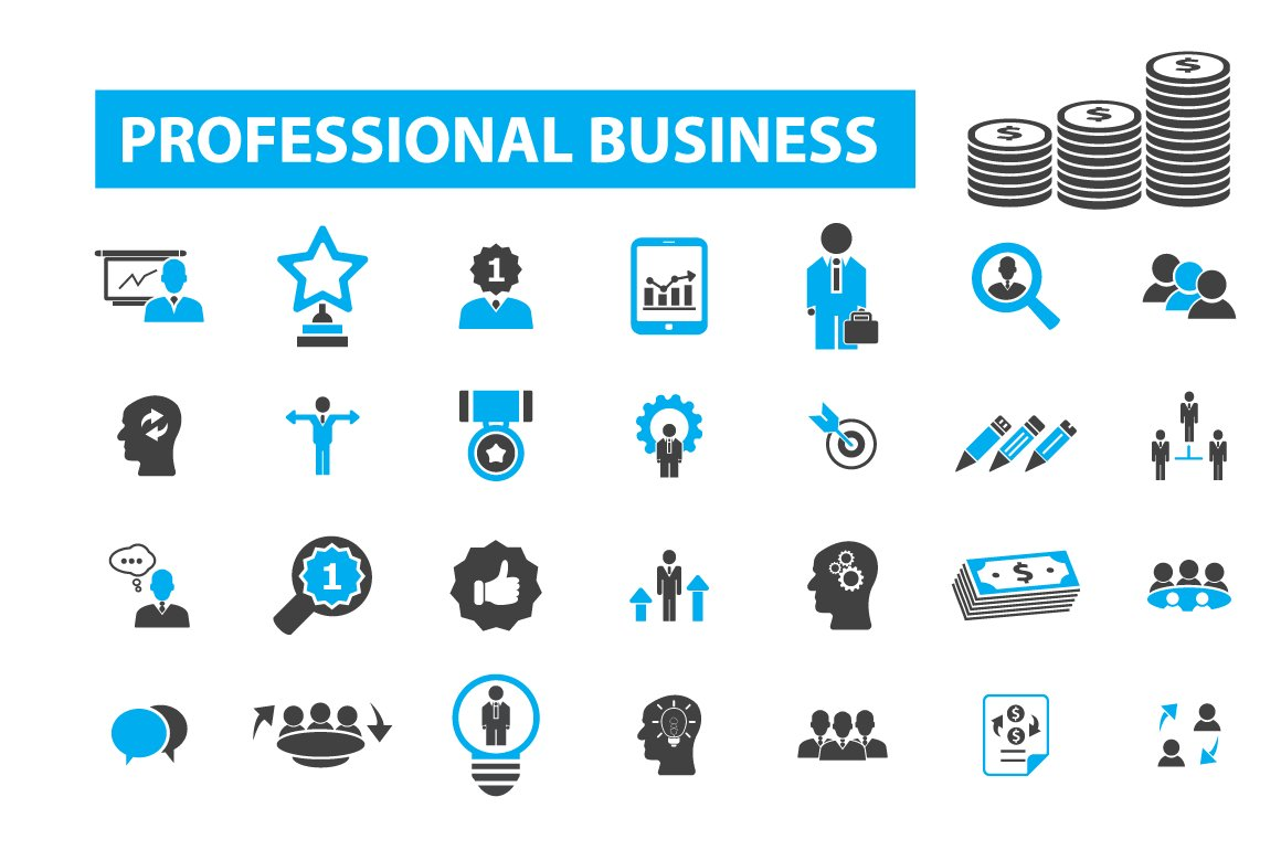 49 professional business icons ~ Icons ~ Creative Market