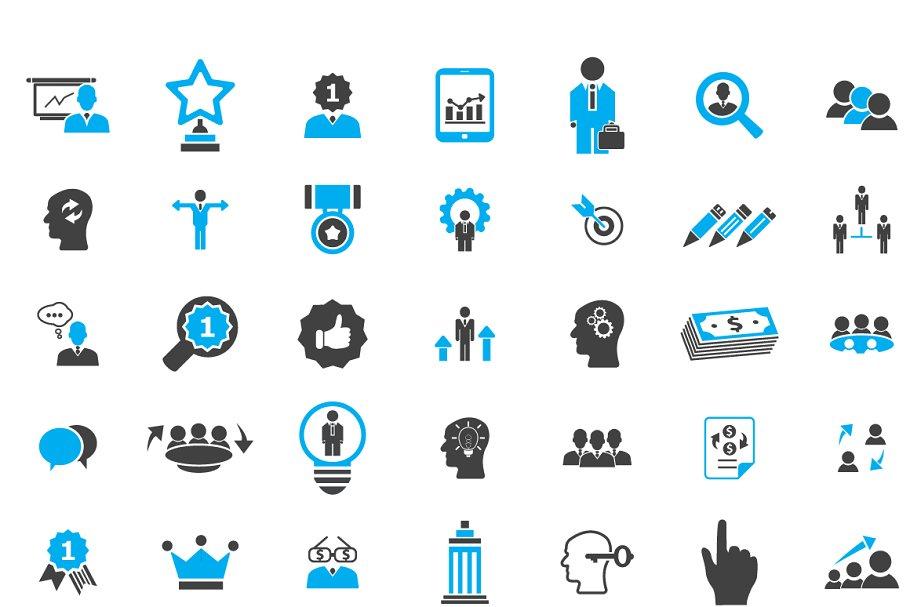 49 professional business icons | Custom-Designed Icons ...
