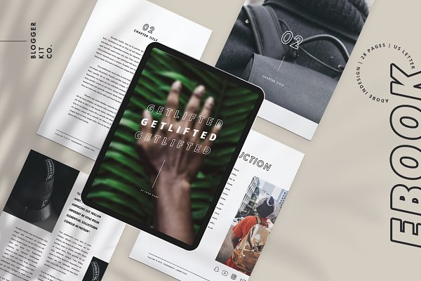 eBook Template for Adobe InDesign