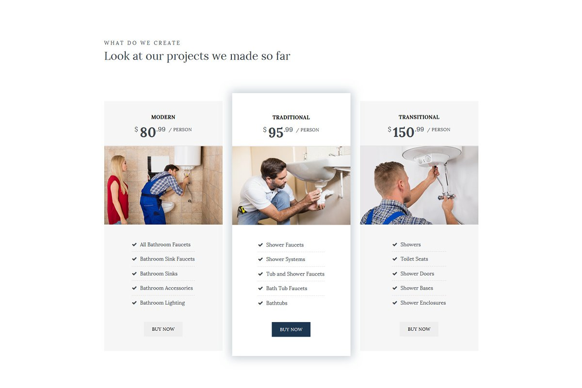 Homi – Bathroom Fixtures WP Theme in WordPress Business Themes - product preview 9