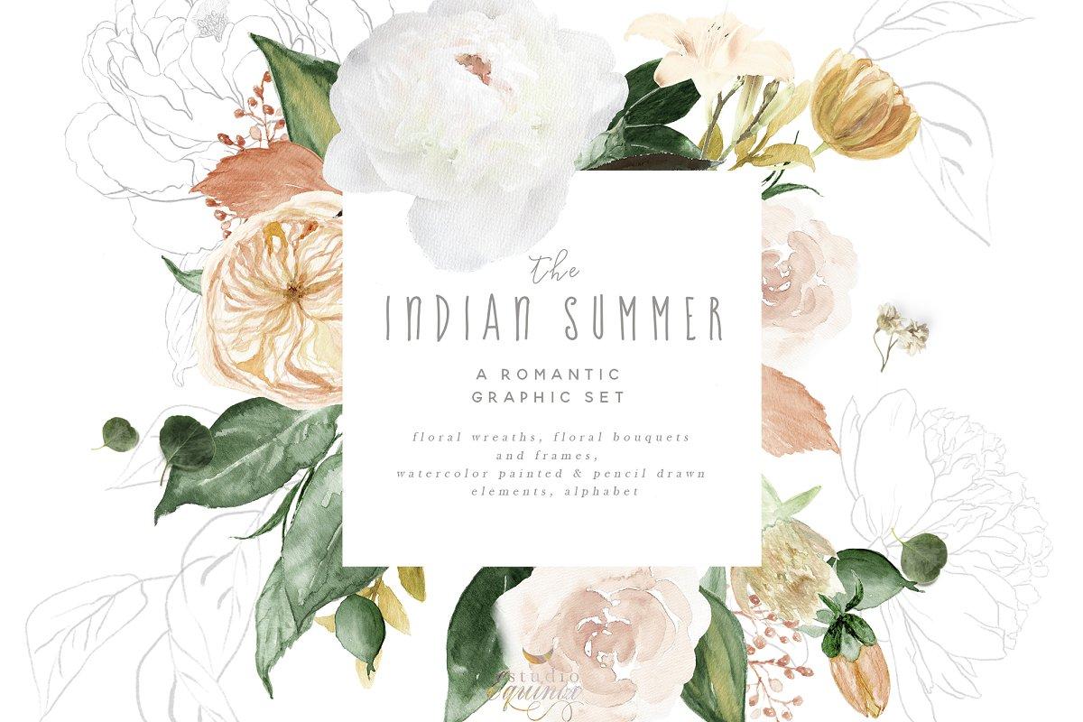The Indian Summer - Autumnal Set