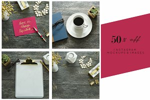 50% off Bundle | Pink & Gold Stock