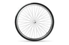 Bicycle wheel icons