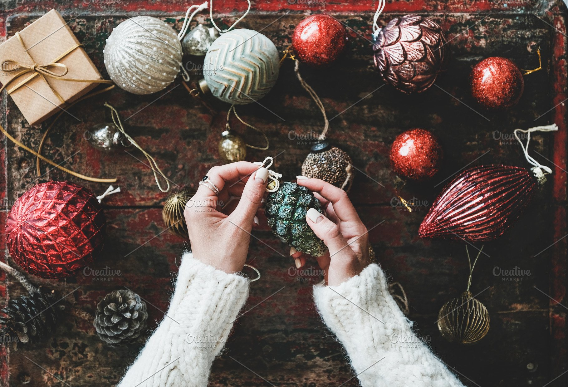 Save. Christmas decoration ...