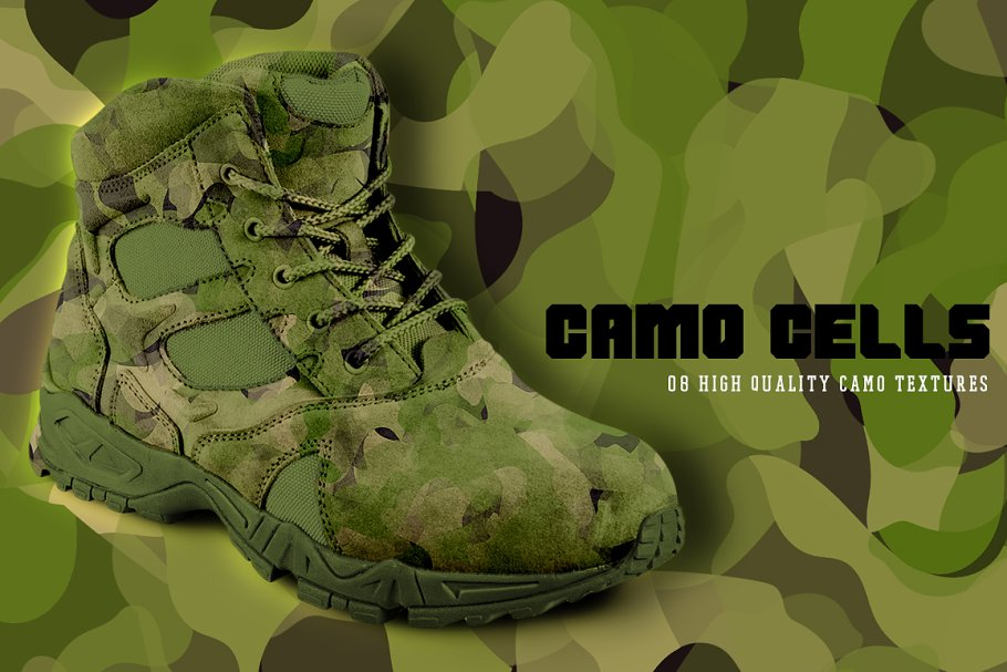 Camo Cells in Textures - product preview 8
