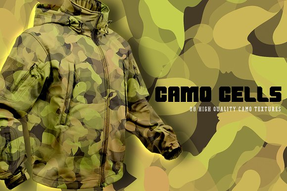 Camo Cells in Textures - product preview 1