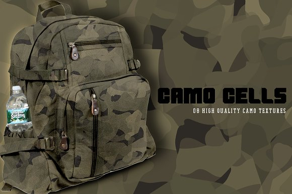 Camo Cells in Textures - product preview 2