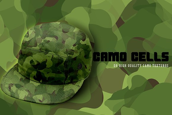 Camo Cells in Textures - product preview 3