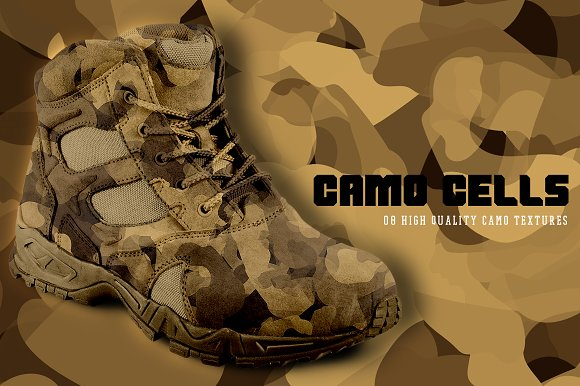 Camo Cells in Textures - product preview 4