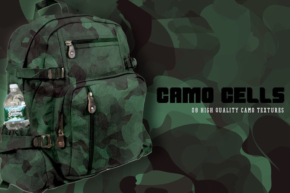 Camo Cells in Textures - product preview 6