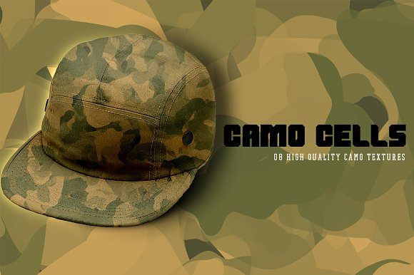 Camo Cells in Textures - product preview 7