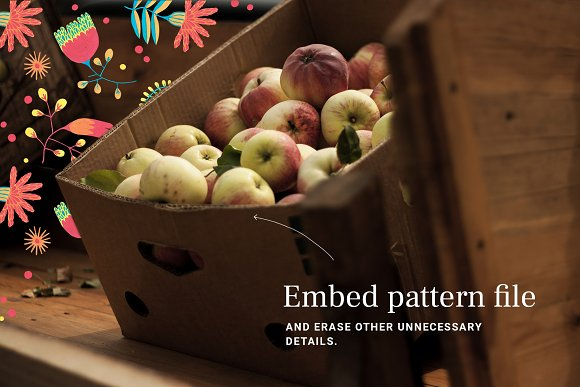Floral Folklore Pattern Aid Kit in Textures - product preview 3