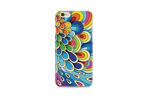 Abstract Floral design for mobile