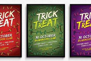 Stitches Halloween Poster