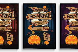 Halloween Sign Poster