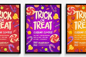 Candy Halloween Poster