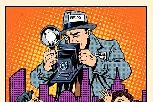 Media paparazzi terrorizing people
