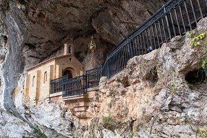 Covadonga chapel in Asturias,