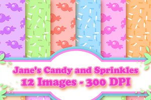 Candy and Sprinkles Patterns