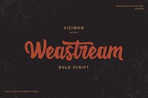 Weastream Font!