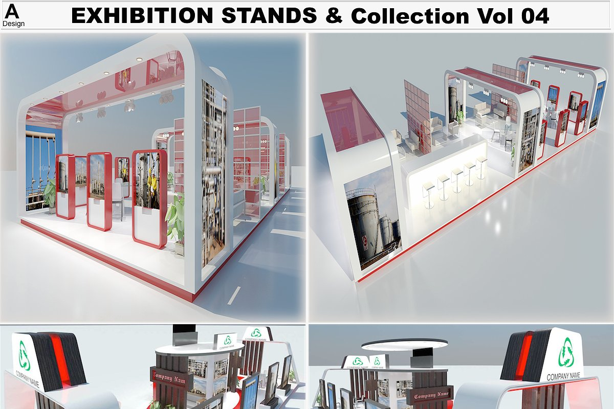 Exhibition Stands Collection 4