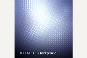 Technology digital background
