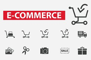 25 e-commerce icons