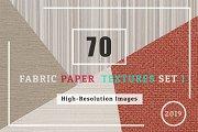 70 Fabric Paper Texture Set1