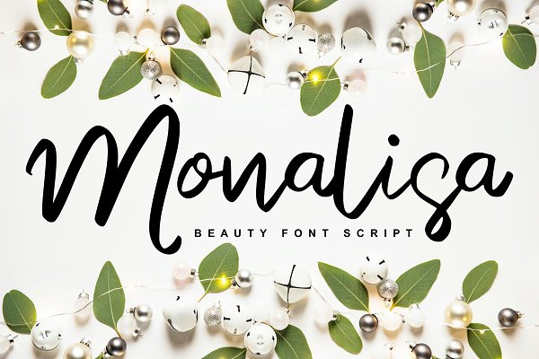 Monalisa | Beauty Script Handwritten