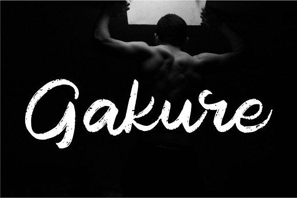 Blackout | Rough Script Font