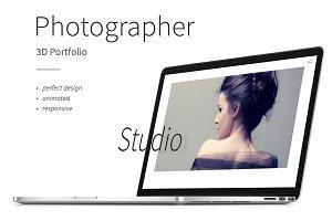 Photographer — 3D Portfolio