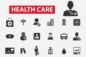 30 health care icons