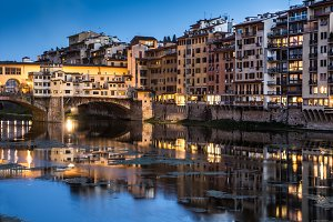 Night in Ponte Vecchio