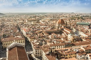 Firenze aerial view