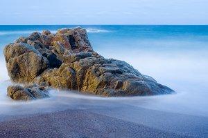 Moody beach