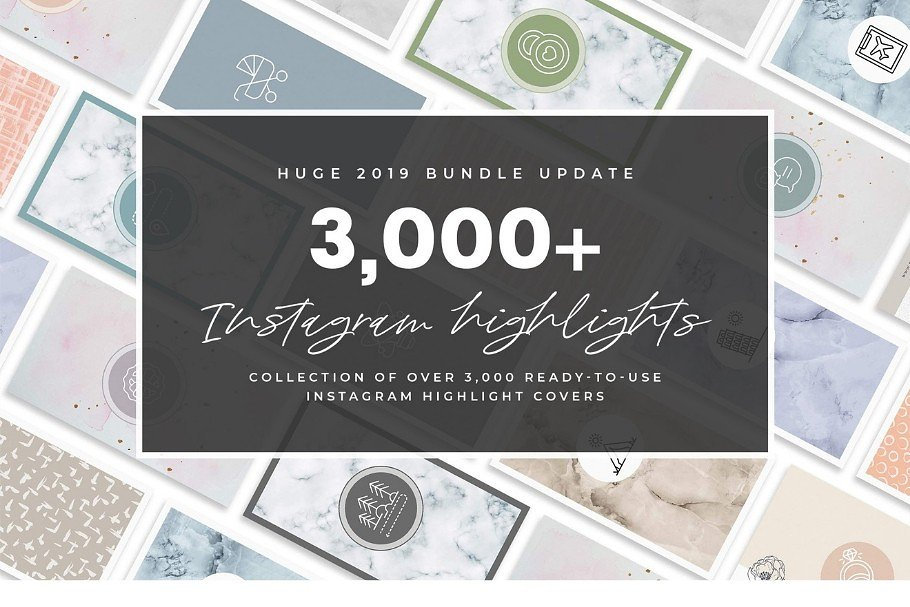 3,000+ Instagram Highlight Covers in Instagram Templates - product preview 81