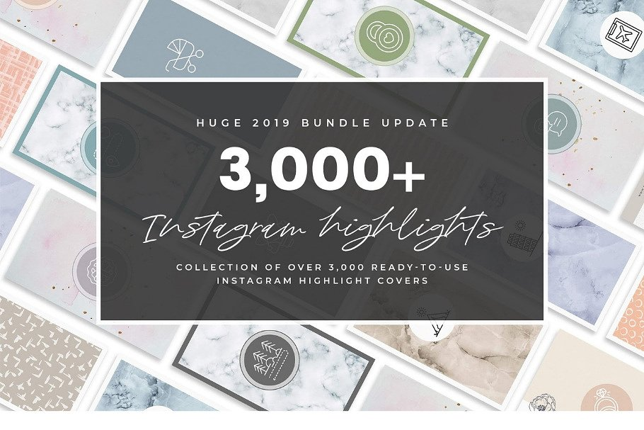 3,000+ Instagram Highlight Covers in Instagram Templates - product preview 84