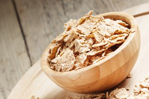 Wholegrain wheat cereal