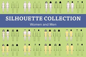 Women and Men Silhouette Collection
