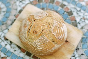 Food Stock Photo | Sourdough Bread