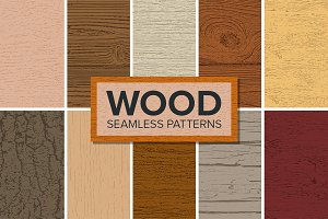21 Wood Patterns - Bundle