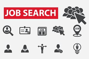 20 job search icons