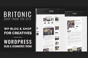 Britonic - Ecommerce Wordpress Theme