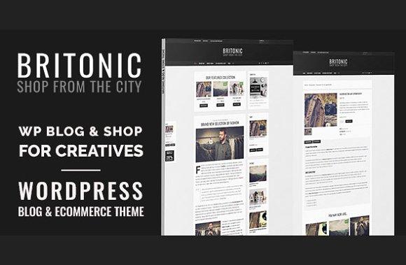 Britonic - Ecommerce Wordpress Theme
