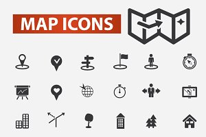 30 map icons