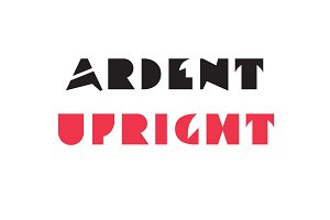 Ardent Upright