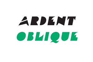Ardent Oblique